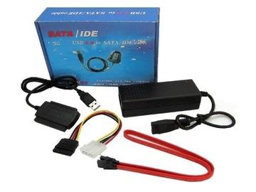 ПЕРЕХОДНИК USB SATA жесткий ДИСК HDD IDE ATA 2,5 и 3,5 доставка товаров из Польши и Allegro на русском