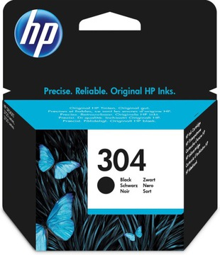 Оригинальный черный струйный картридж HP 304 (N9K06A доставка товаров из Польши и Allegro на русском