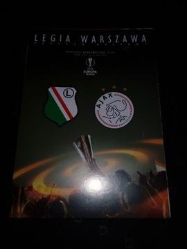 Program Legia Warszawa - Ajax Amsterdam 16.02.2017 доставка товаров из Польши и Allegro на русском