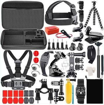 Набор 60w1 креплений для GoPro Hero 7 6 5 4 3+ black доставка товаров из Польши и Allegro на русском