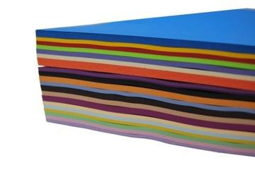 Бумага цветной МИКС 20 цветов в ryzie A4 500 листов. доставка товаров из Польши и Allegro на русском