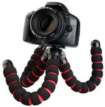 Гибкий Штатив Тренога губчатый фильтр для камеры БОЛЬШОЙ доставка товаров из Польши и Allegro на русском