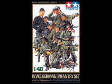 1/48 WWII German Infantry Set Tamiya 32512 доставка товаров из Польши и Allegro на русском