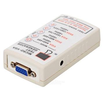 Тестер мониторов VGA CRT LCD __ счет-ФАКТУРА __ BTE-105 доставка товаров из Польши и Allegro на русском