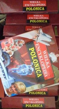 Wielka encyklopedia Polonica 10 segregatorów A-Z + доставка товаров из Польши и Allegro на русском