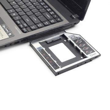 Gembird Адаптер HDD SSD жесткий Диск 5,25 на 2,5 DVD 9.5 мм доставка товаров из Польши и Allegro на русском