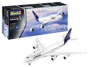 REVELL МОДЕЛЬ ДЛЯ СКЛЕИВАНИЯ SBOEING 747-8 LUFTHANSA доставка товаров из Польши и Allegro на русском