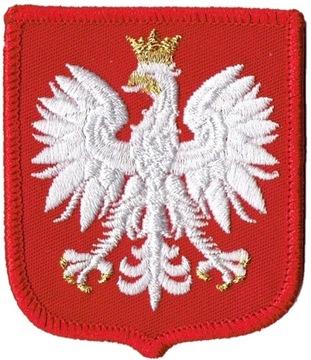Герб Польский орел на униформе wz MON доставка товаров из Польши и Allegro на русском
