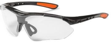 LEKKIE i MOCNE okulary ochronne bezbarwne na rower