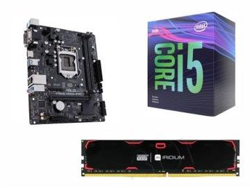 КОМПЛЕКТ INTEL i5-9400+ASUS H310M-R+8GB DDR4 BOX доставка товаров из Польши и Allegro на русском