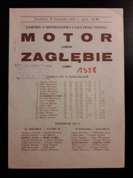 ZAGŁĘBIE LUBIN - MOTOR LUBLIN 1986r доставка товаров из Польши и Allegro на русском
