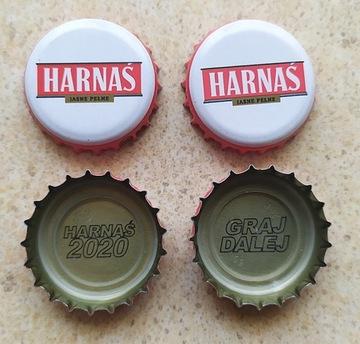 Шапки с пивом ХАРНАС выигрышный 2020 - пивоварня OKOCIM доставка товаров из Польши и Allegro на русском