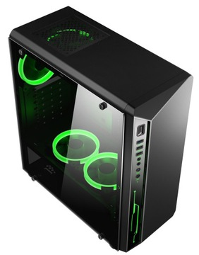 КОРПУС Gamer Премиум модель BPC3 USB 3.0, 3x LED доставка товаров из Польши и Allegro на русском