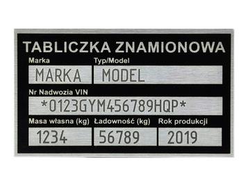 Табличка сменная маркировка в цене доставка товаров из Польши и Allegro на русском