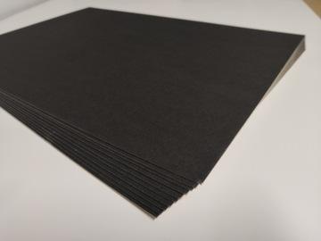Картон ЧЕРНАЯ 1,2 мм моделируя A3 10 листов Черный доставка товаров из Польши и Allegro на русском