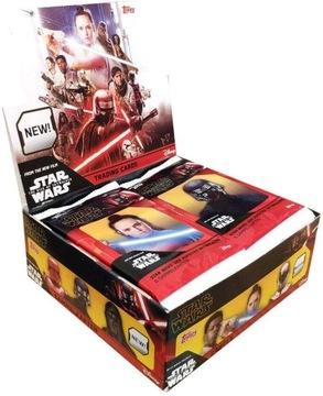 topps STAR WARS 50 пакетиков 300 карт Скайуокер ХИТ доставка товаров из Польши и Allegro на русском