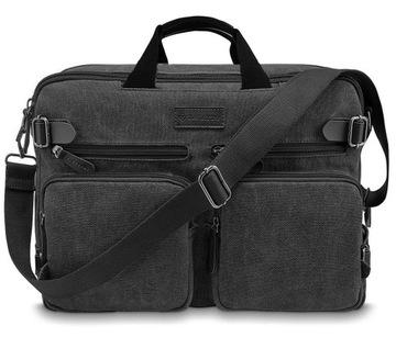 ZAGATTO Сумка мужская рюкзак на плечо, USB-разъем доставка товаров из Польши и Allegro на русском