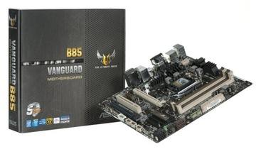 ASUS VANGUARD B85 s1150 BOX 12m-cy GW МАГАЗИН доставка товаров из Польши и Allegro на русском