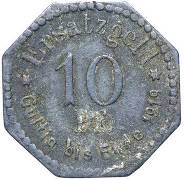 + Stettin - Щецин - NOTGELD - 10 Pfennig 1917 доставка товаров из Польши и Allegro на русском