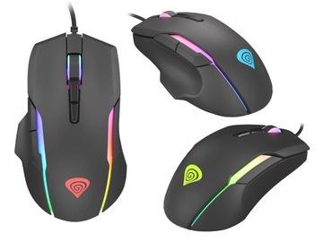 Мышь игровая мышь для геймеров, USB LED Genesis доставка товаров из Польши и Allegro на русском