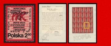 2644 изд диверсионные ВОРОН АТТЕСТАТ 1982 cz** LUX 9163 доставка товаров из Польши и Allegro на русском