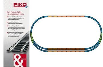 PIKO A-Gleis Набор Треков Модельных A+E 55367 доставка товаров из Польши и Allegro на русском