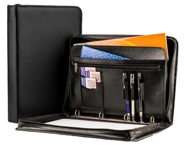 Органайзер кожаный Портфель A4 ПРОИЗВОДИТЕЛЬ! BW05 доставка товаров из Польши и Allegro на русском