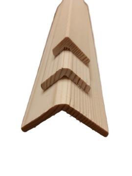 Плинтус деревянный угольник угол угол 4 x 4 доставка товаров из Польши и Allegro на русском