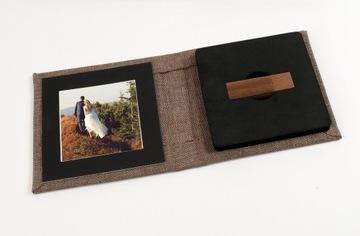 защитный чехол с usb-флешки деревянный 15х15 доставка товаров из Польши и Allegro на русском