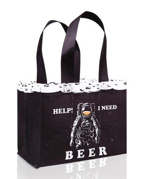 Подарочная пивная сумка 6PAK с принтом Fabor доставка товаров из Польши и Allegro на русском