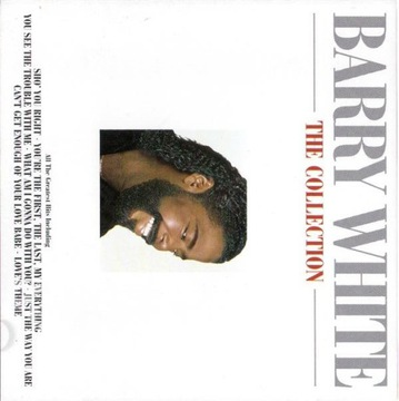 BARRY WHITE THE COLLECTION 1 CD + 12