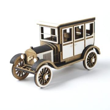 Модель Автомобиля - Ford T - для склеивания - HDF+тект доставка товаров из Польши и Allegro на русском