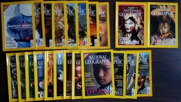 NATIONAL GEOGRAPHIC 2000-13szt,1999-1шт,2001-8шт доставка товаров из Польши и Allegro на русском
