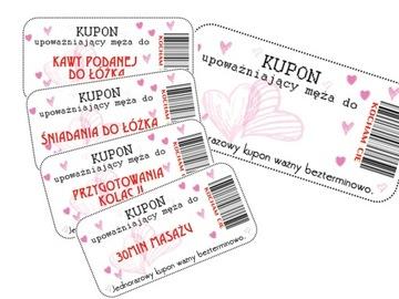 Купон LOVE LOVE ВАУЧЕР индивидуальное ИМЯ +18 доставка товаров из Польши и Allegro на русском