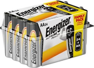 24x Батарея ENERGIZER Alkaline Power LR6 AA 1,5 V доставка товаров из Польши и Allegro на русском