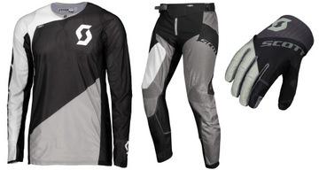 SCOTT Komplet 450 ANGLED spodnie koszulka rękawice доставка товаров из Польши и Allegro на русском