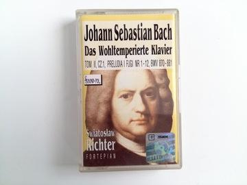 Рихтер Бах Прелюдии и фуги-аудио кассета доставка товаров из Польши и Allegro на русском