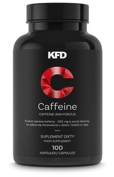 KFD CAFFEINE  KOFEINA  200 mg  100 kapsułek