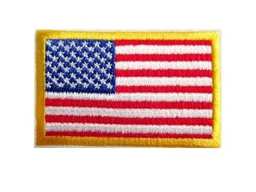 Полоса ФЛАГ США / Флаг США плечо термо доставка товаров из Польши и Allegro на русском