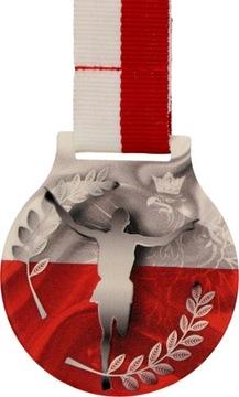 Красивая Медаль 5см ХОД НЕЗАВИСИМОСТИ + знамя доставка товаров из Польши и Allegro на русском