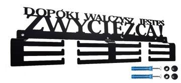 Вешалка на медали MEDALÓWKĄ ПОКА вы боретесь 40см доставка товаров из Польши и Allegro на русском