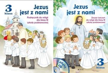 JEZUS JEST Z NAMI KL 3 PODR  i ĆWICZENIA JEDNOŚĆ
