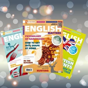 Годовая подписка English Matters от Издателя доставка товаров из Польши и Allegro на русском