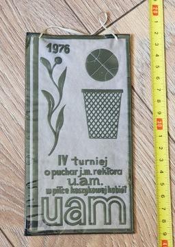 ВЫМПЕЛ IV ТУРНИР НА КУБОК РЕКТОРА УНИВЕРСИТЕТА ИМ. АДАМА МИЦКЕВИЧА 1976 доставка товаров из Польши и Allegro на русском