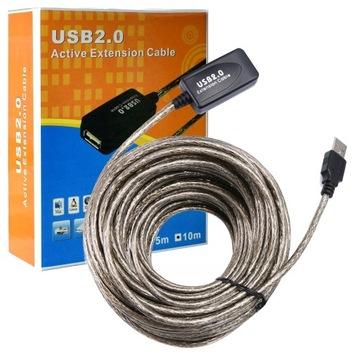 Активный УДЛИНИТЕЛЬ USB High Quality кабель 10м доставка товаров из Польши и Allegro на русском