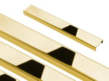 ЗОЛОТАЯ НАКЛАДКА ДЕКОРАТИВНАЯ ДЛЯ ПЛИТКИ C 240x2cm GOLD доставка товаров из Польши и Allegro на русском