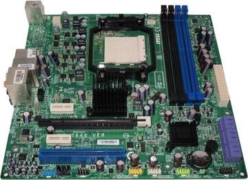 Материнская ПЛАТА для ПК MSI MS-7646 сек.AM3 AMD SB710 DDR3 доставка товаров из Польши и Allegro на русском