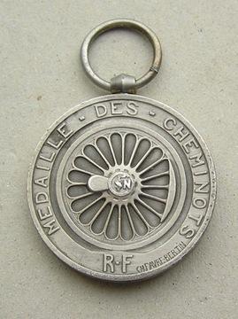 Франция серебряная медаль вокзал 1947 доставка товаров из Польши и Allegro на русском