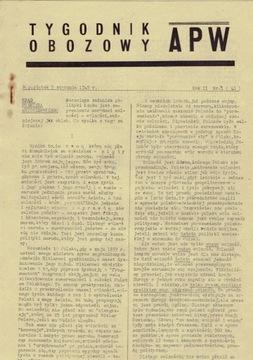 SBSK НАШИ ДОРОГИ № 16 от 15 сентября 1941 г. Бохенский  доставка товаров из Польши и Allegro на русском