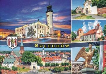 СУЛЕХУВ - РАТУША - С ВЫСОТЫ ПТИЧЬЕГО ПОЛЕТА - ВОРОТА - ГЕРБ доставка товаров из Польши и Allegro на русском